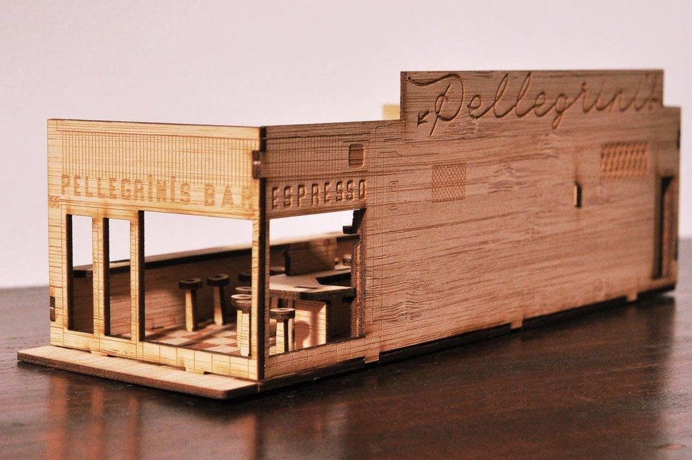 PELLEGRINI'S BARMELBOURNE. 1954 -