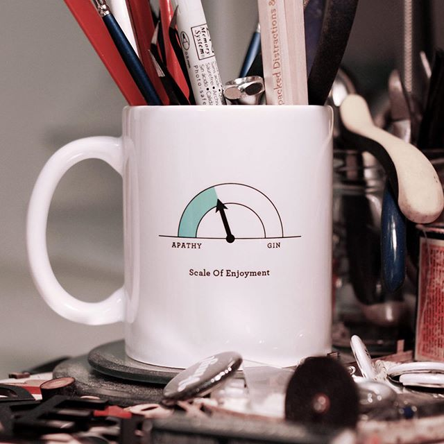 We're celebrating the handful of moments left before your shipping options dry up by launching a superfluous and unconnected mug range. A bargain gift at $20 apiece. And mugs are actually useful. Unlike that $80 candle you just bought your mate because you were out of ideas. $80! For a candle! They never even smell good as you think they will. We've gone wrong somewhere. . . . Full mug range in bio link. Ideal for coffee, pencils or secret Gin.