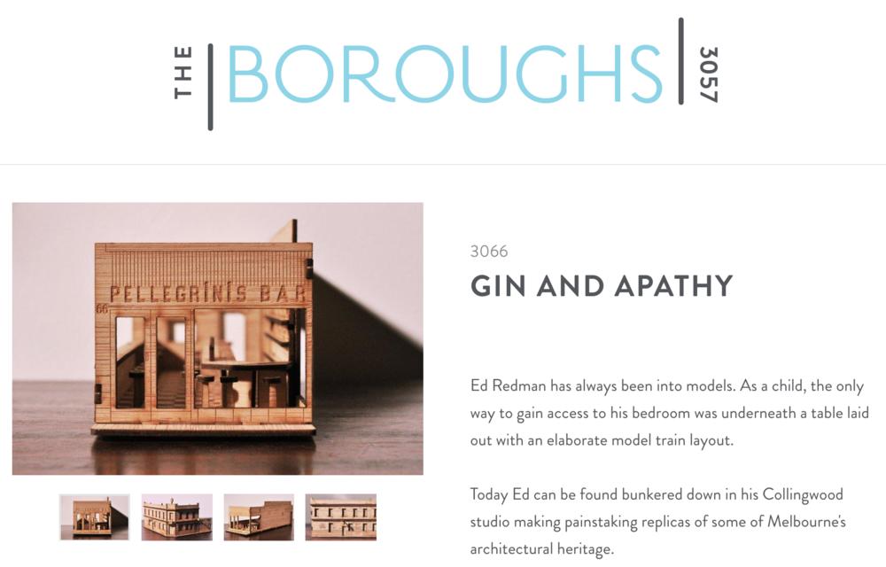 The Boroughs, Jan 2019