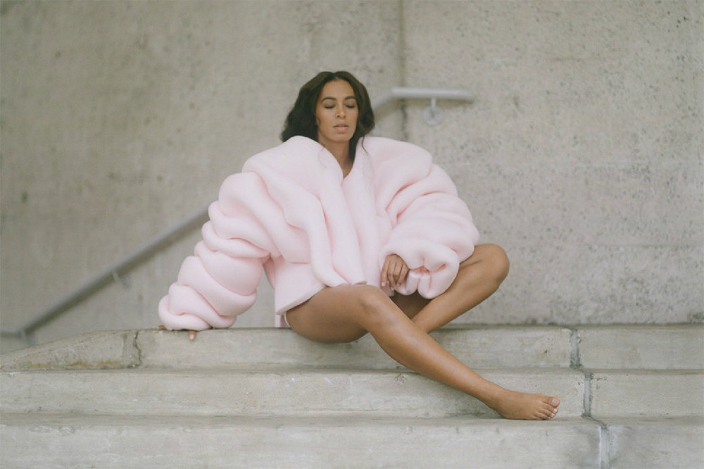 Solange is not bothered by the dislike button
