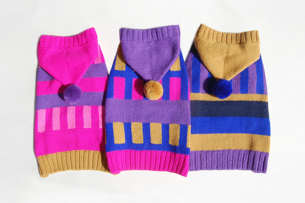 The Kickstarter collection offers three designs, all made of eco-conscious Alpaca