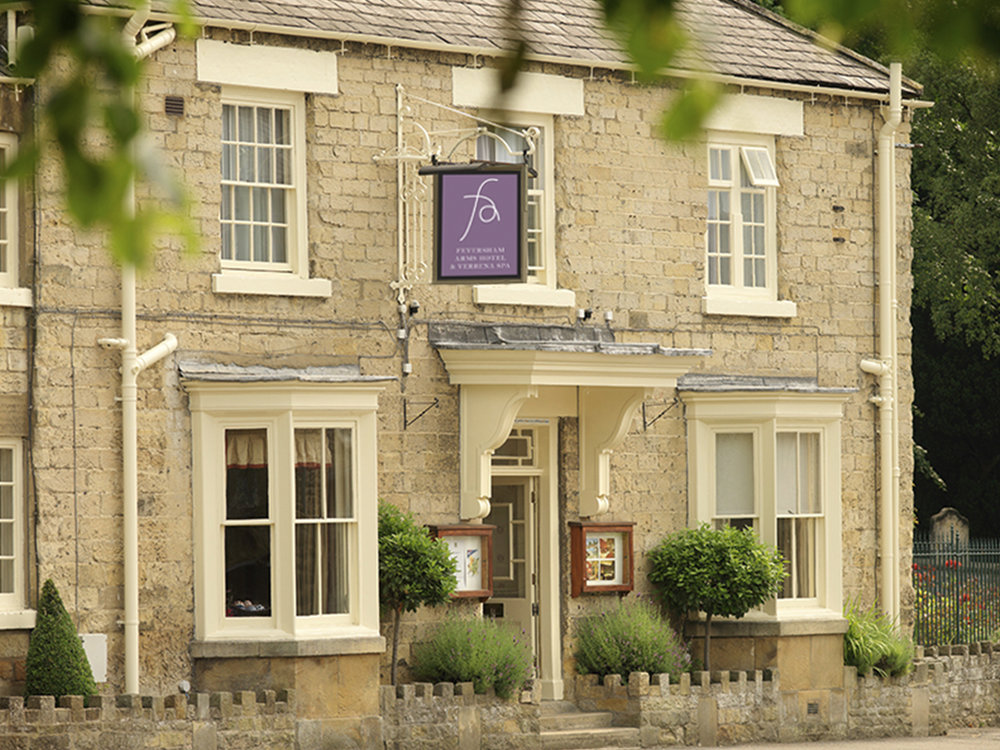 The Feversham Arms Hotel for proper ramblers (who like a spa date afterwards)