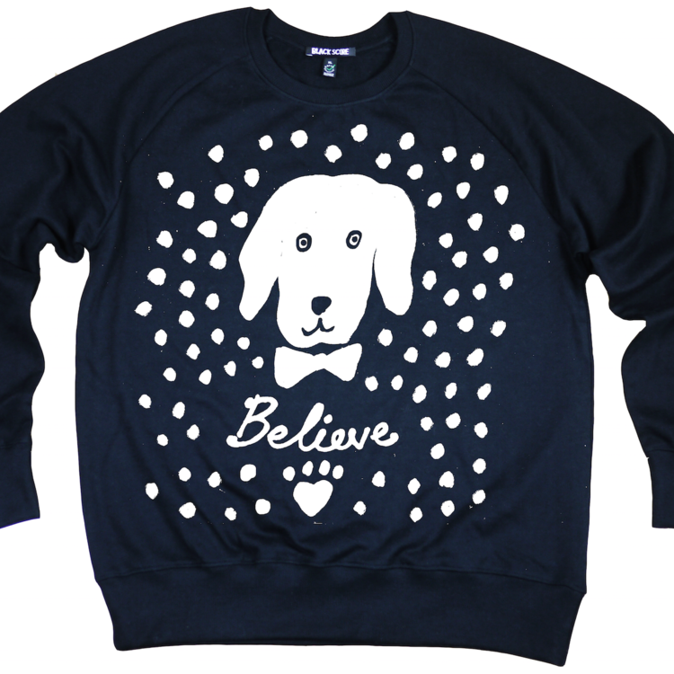 London's Wild at Heart Foundation , which funds animal welfare projects around the world,has a firm paw in the fashion world with its friend, the designer Simeon Farrar, collaborating with the foundation on its sweatshirts, like this limited-edition Snow Dog design. The unisex sweatshirt is made of fairtrade/organic cotton. £50 from wildatheartfoundation.org