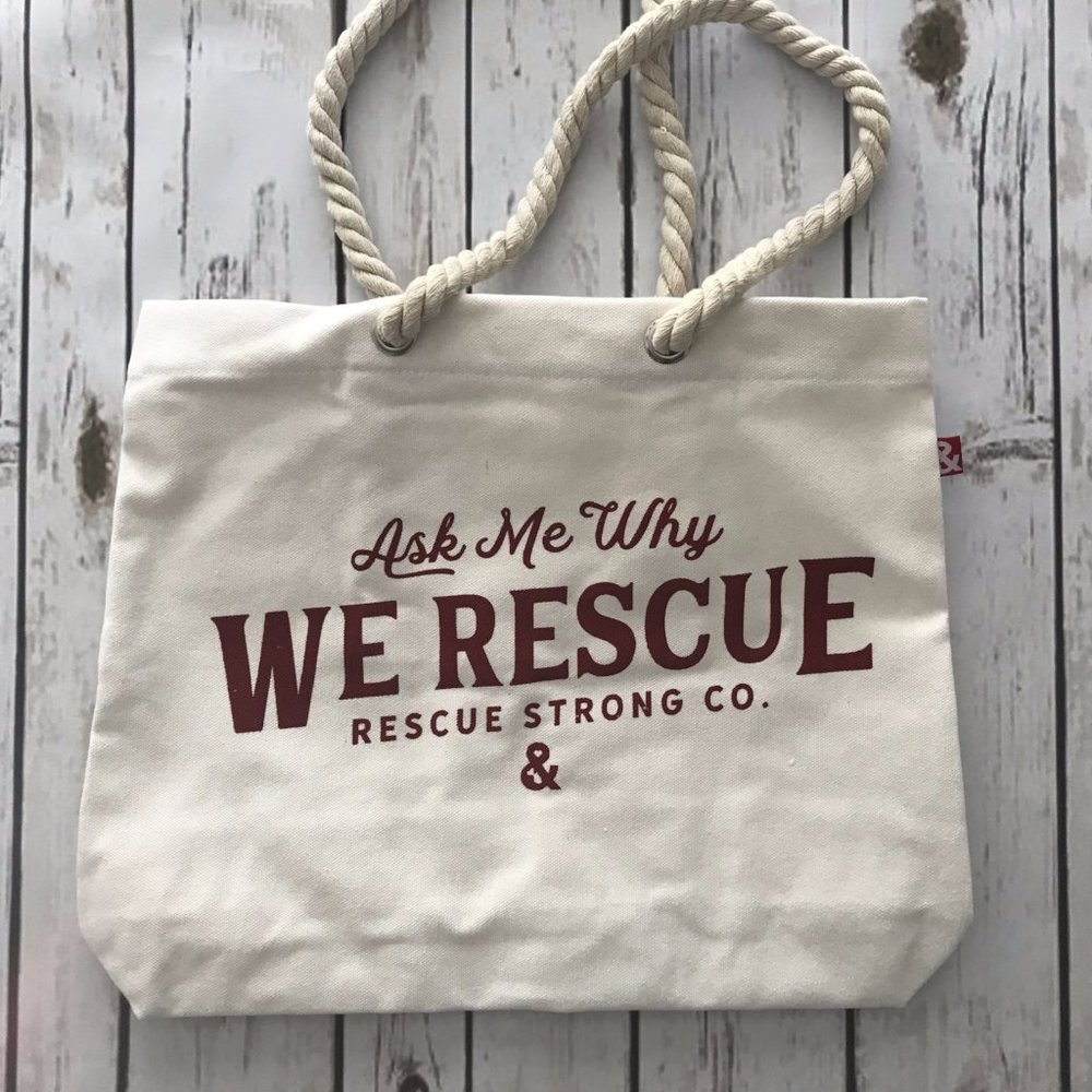 I might as well carry this bag by  Rescue Strong