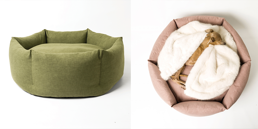 Charley Chau Ducky Donut:For the rescue dog that will probably have its own episode of  E! True Hollywood Story , Charley Chau's donut bed may well be more comfy than your own bed. Duck feathers cushion from the side, and the mattress is deep filled with insulating hollow fibre.Rags to riches. £180