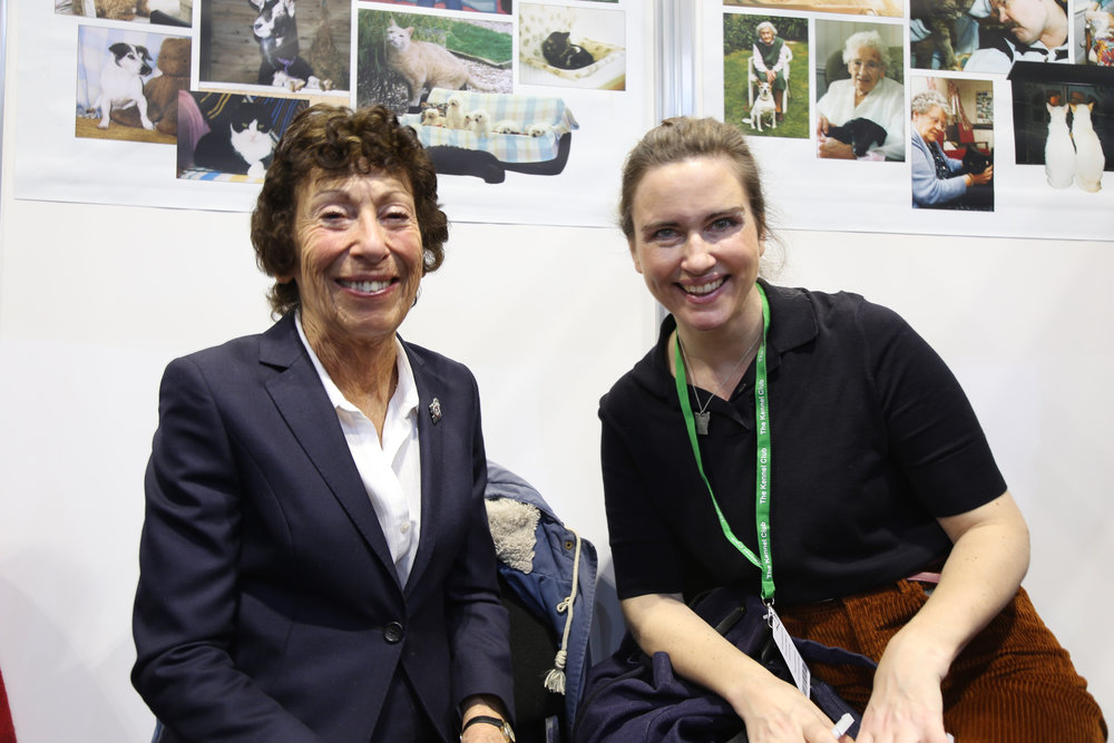 With The Cinnamon Trust founder Averil Jarvis