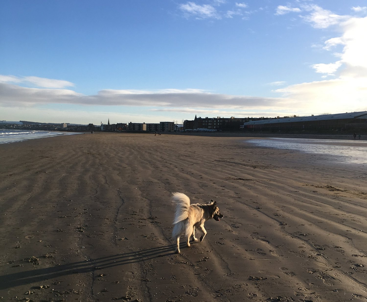 Portobello beach – does it get any better than this?