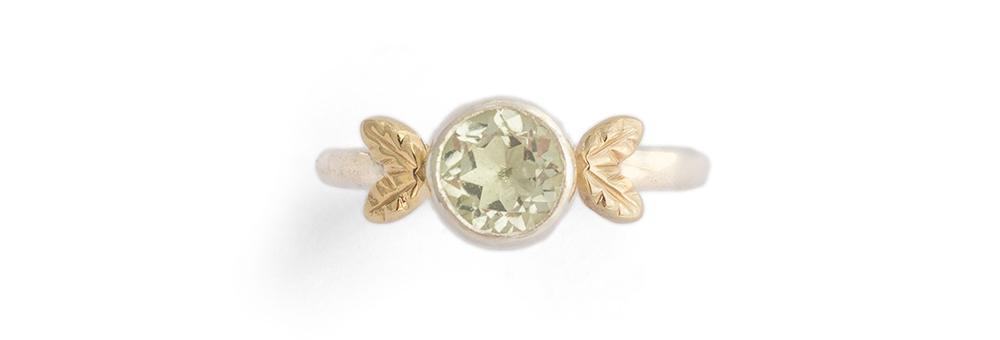 Constance Isobel, amethyst ring.