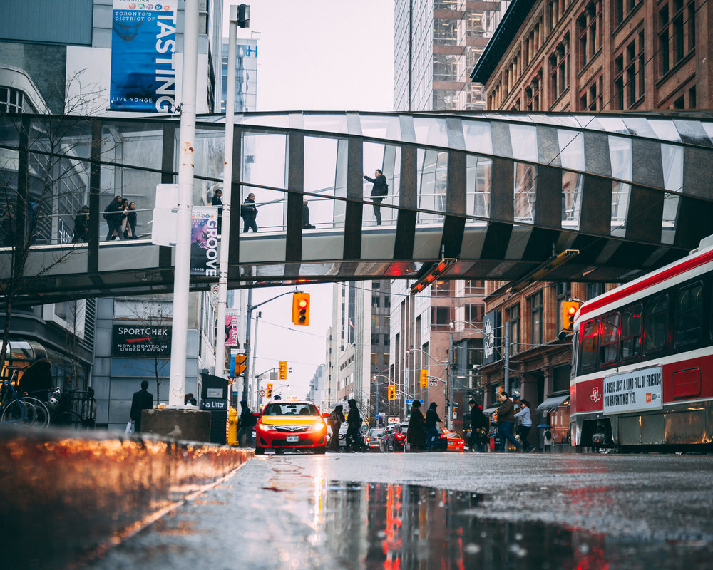 Eaton Center Bridge, Toronto