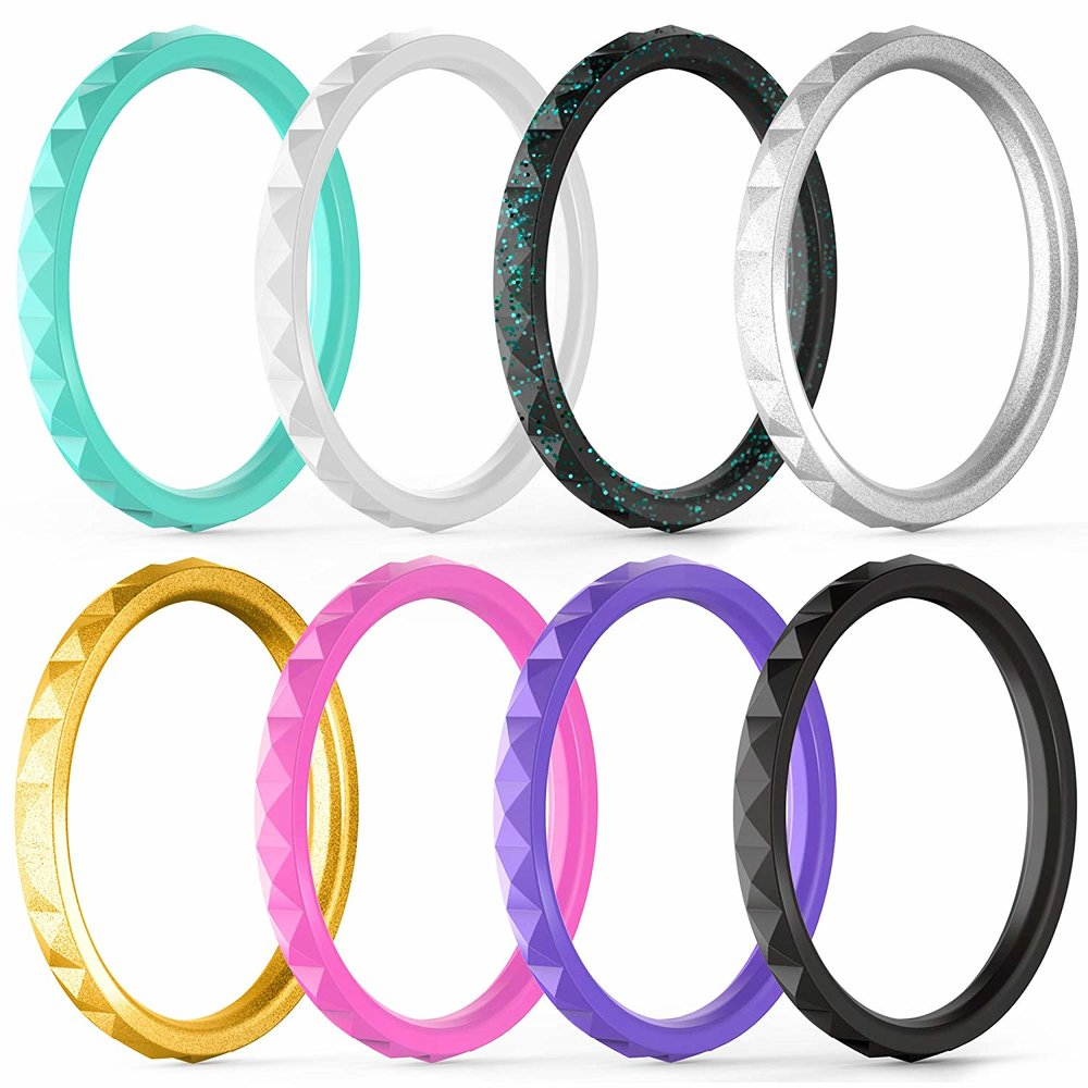 silicon wedding rings This Blissful Moment