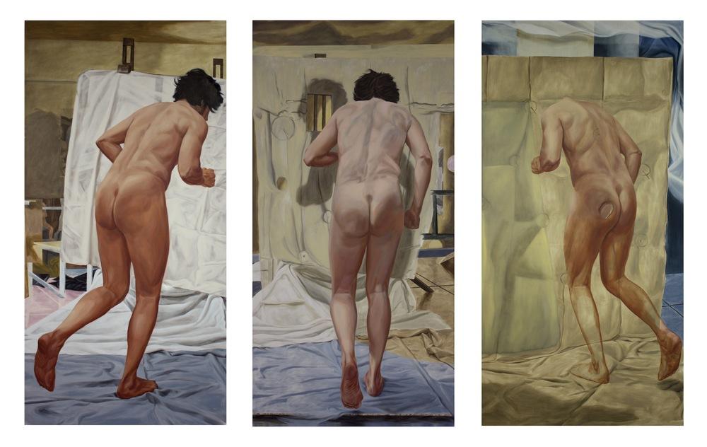 Phenomenomenomenon (triptych)