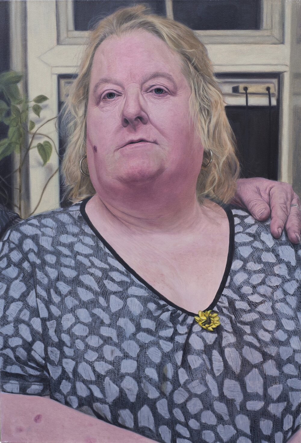 Mrs Cooper. Separated. (Selected for The BP Portrait Award 2018)