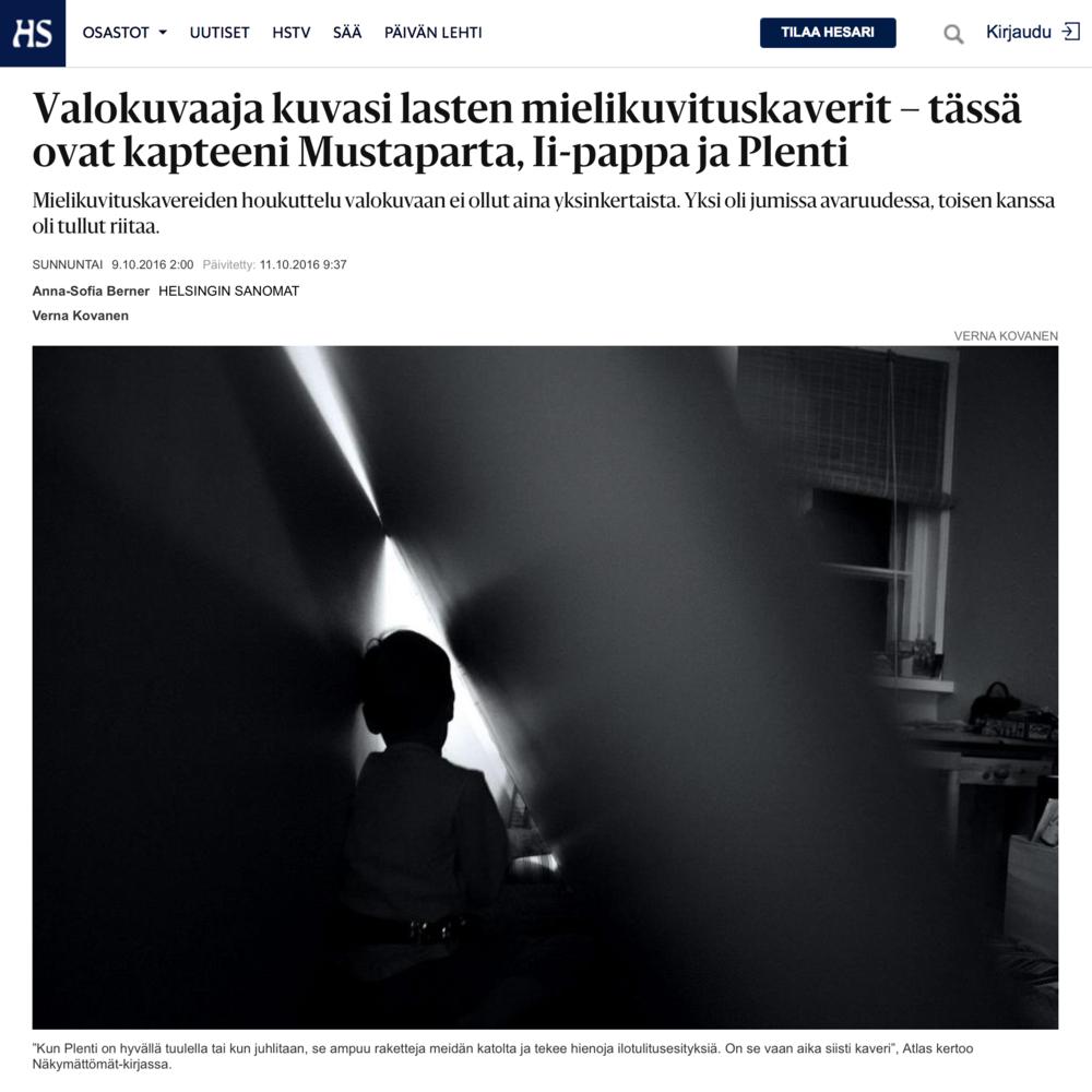 Verna-Kovanen-nakymattomat-Helsingin-Sanomat-HS