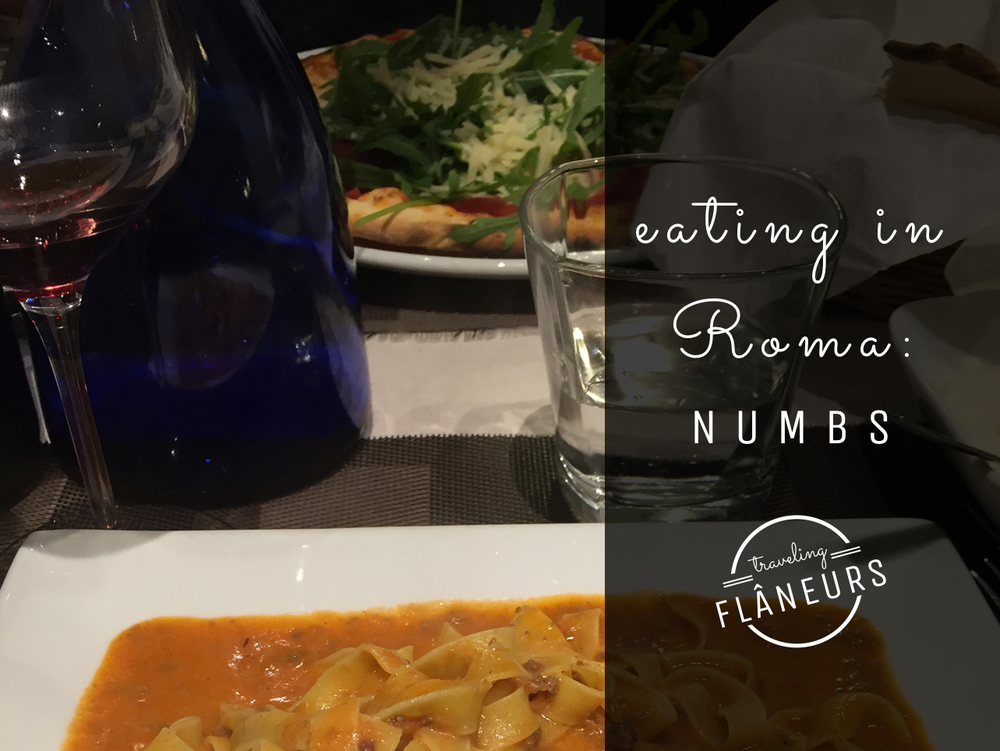 eating in roma numbs