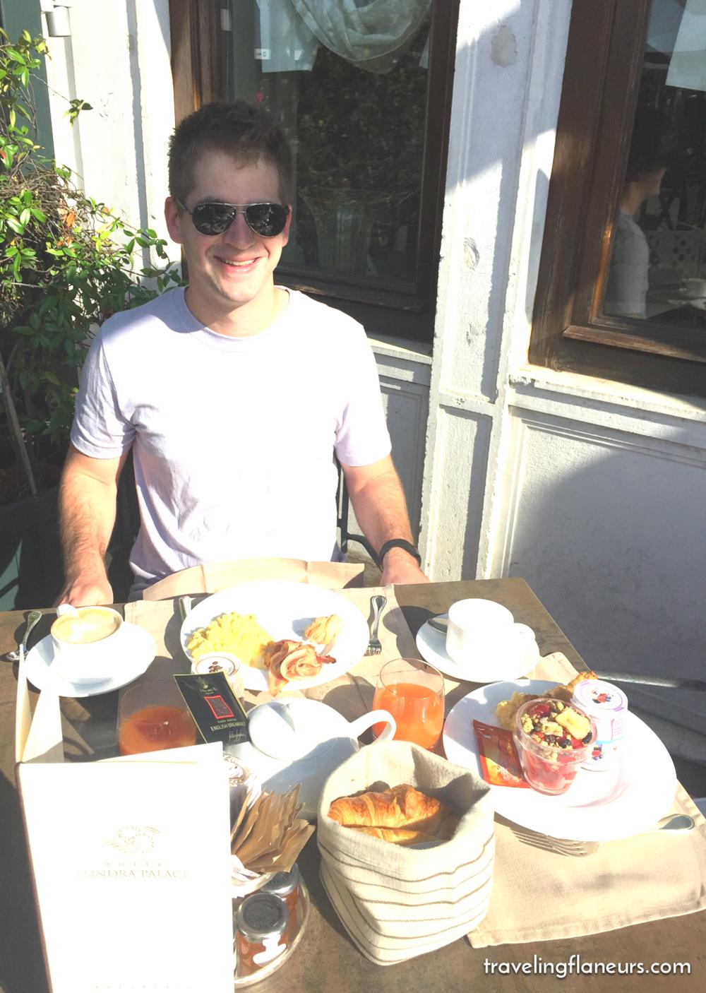 londra breakfast