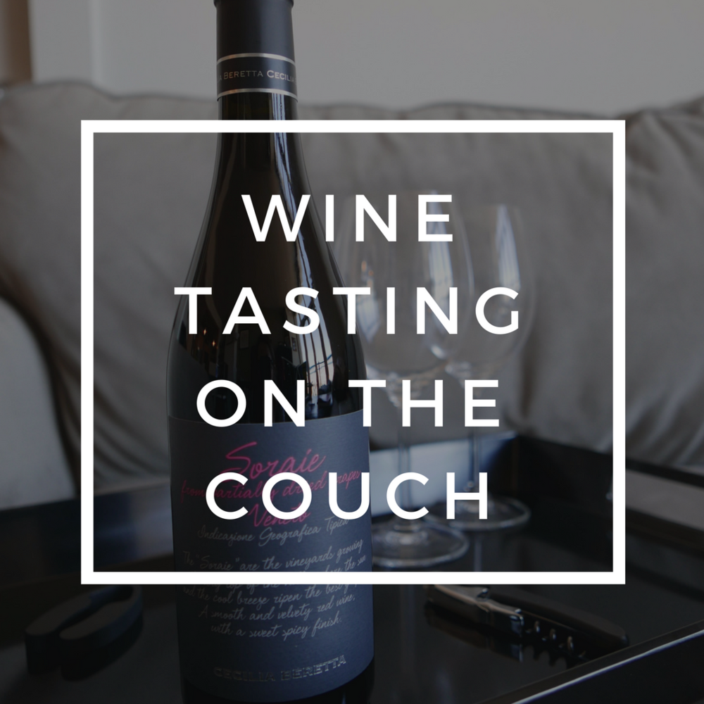 Wine Tasting on the Couch: Soraie