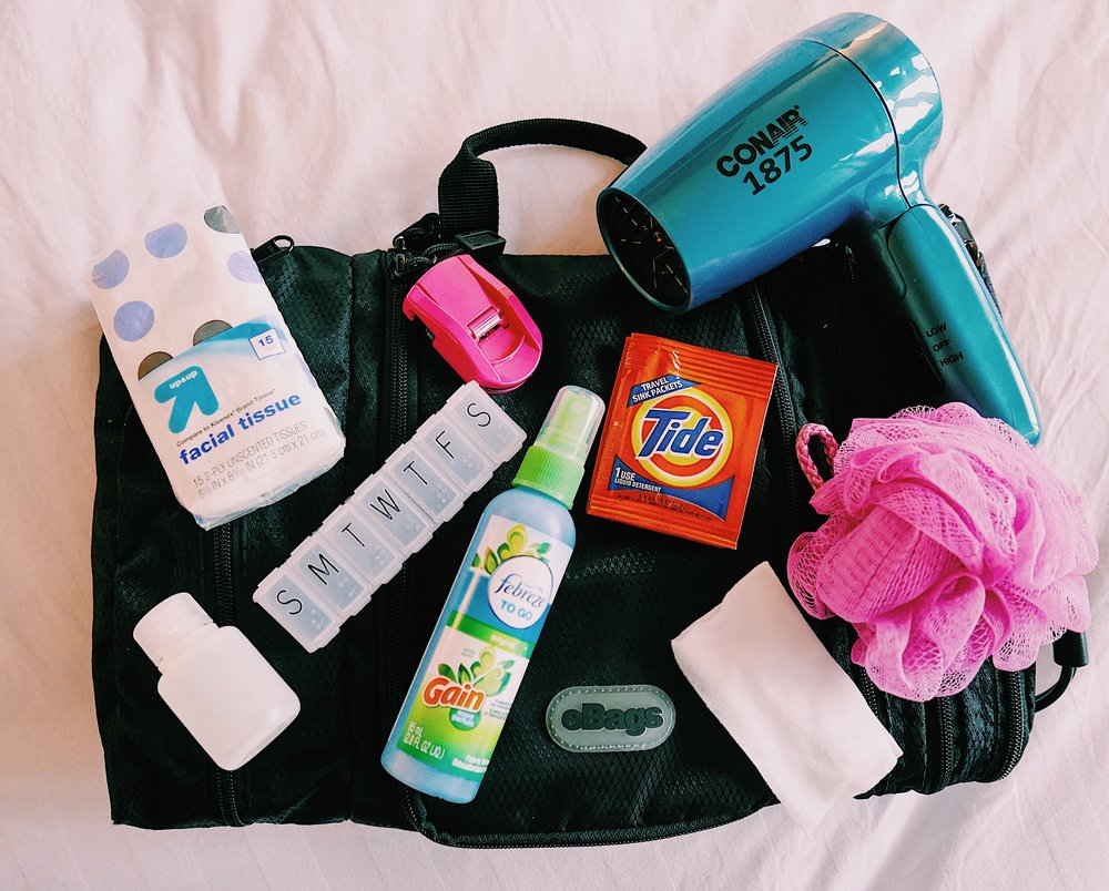 the ten toiletries that you're probably forgetting
