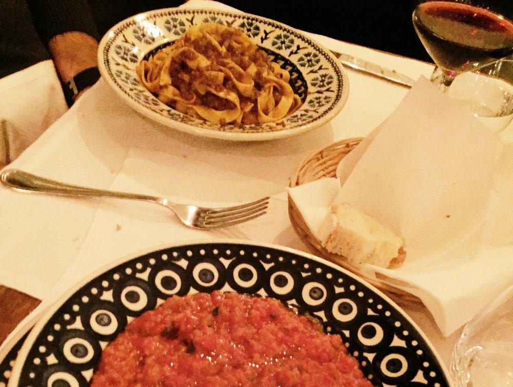 Angiolino Dinner Florence Pomodoro
