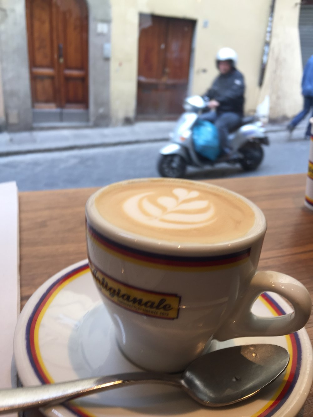 Espresso people watching