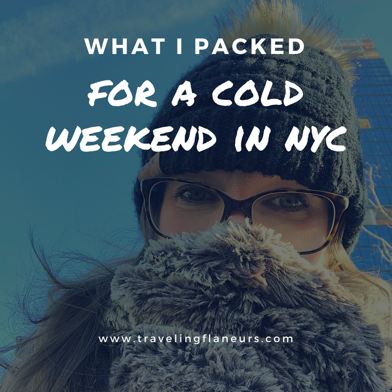 What I packed for a cold weekend in New York City
