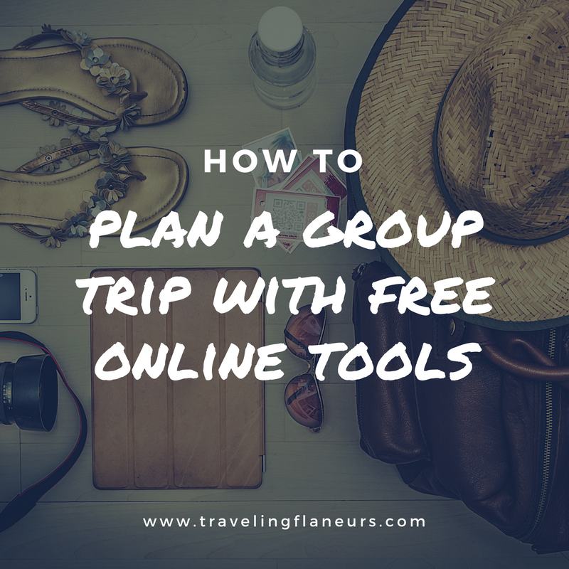 plan a trip with free online tools