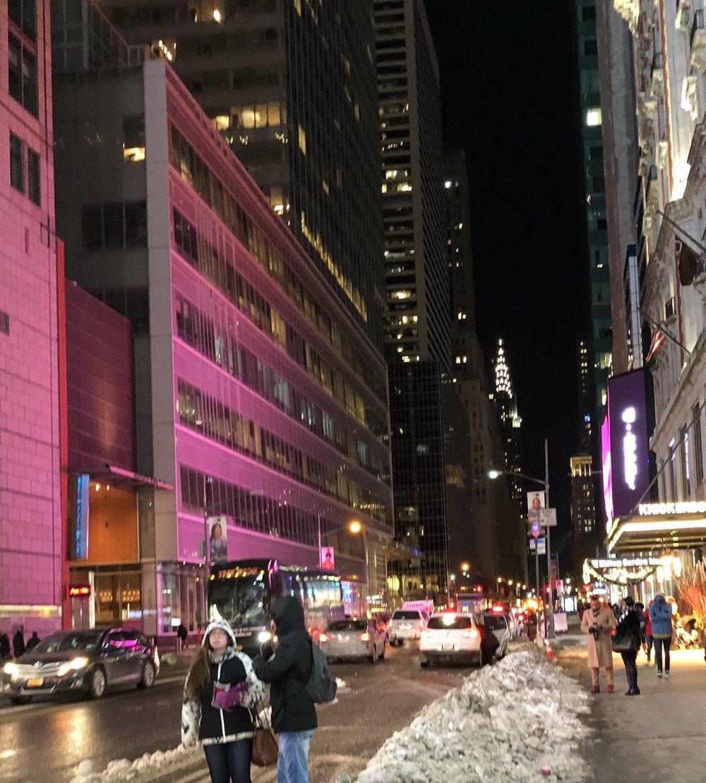 New York City Hotel Street View