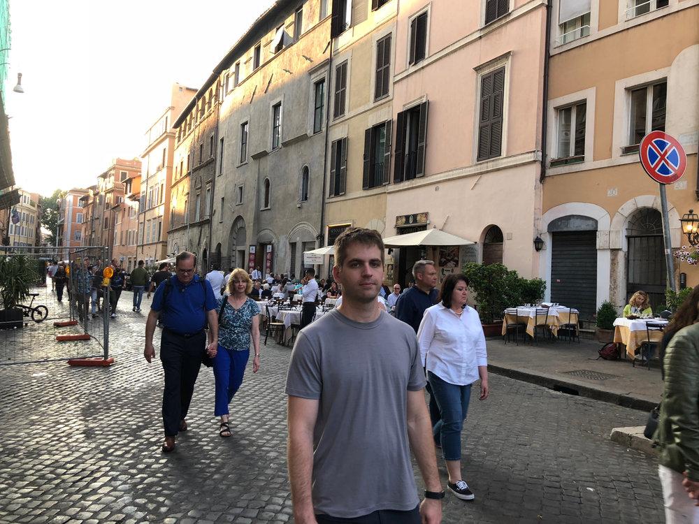 Walking through the Jewish Ghetto