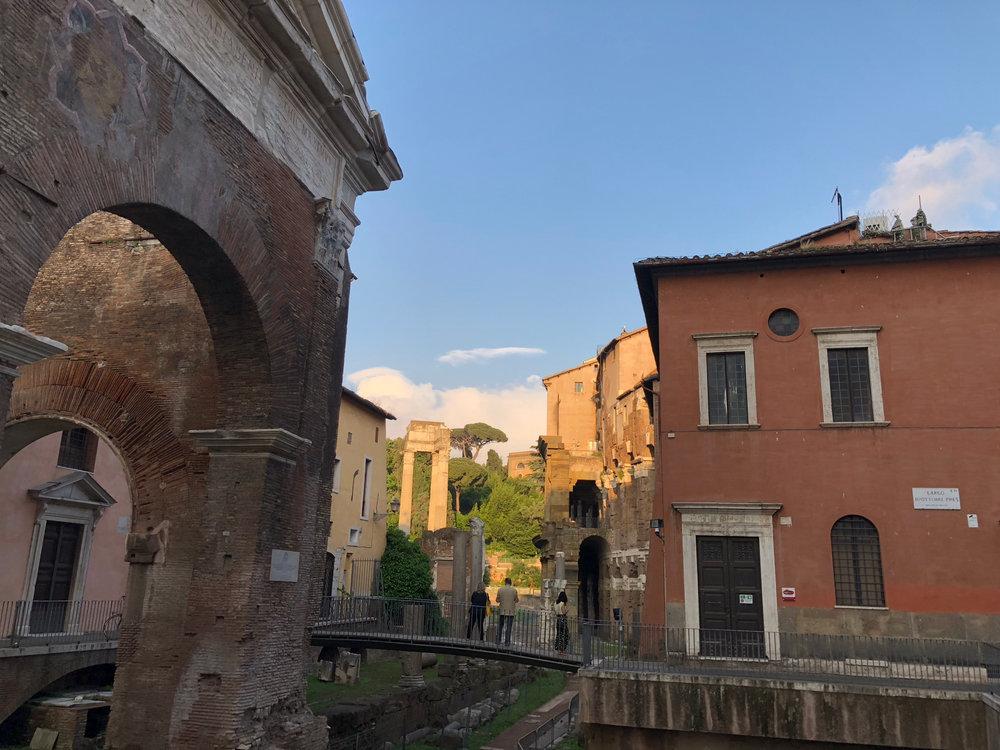Jewish Ghetto Ruins Rome