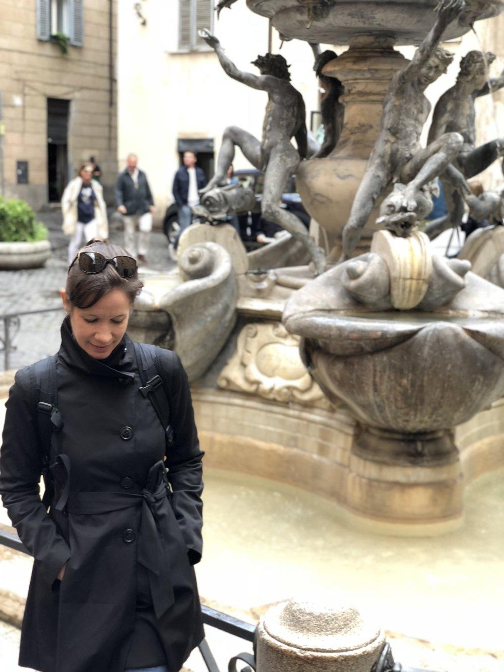 Turtle Fountain Rome Jewish Ghetto