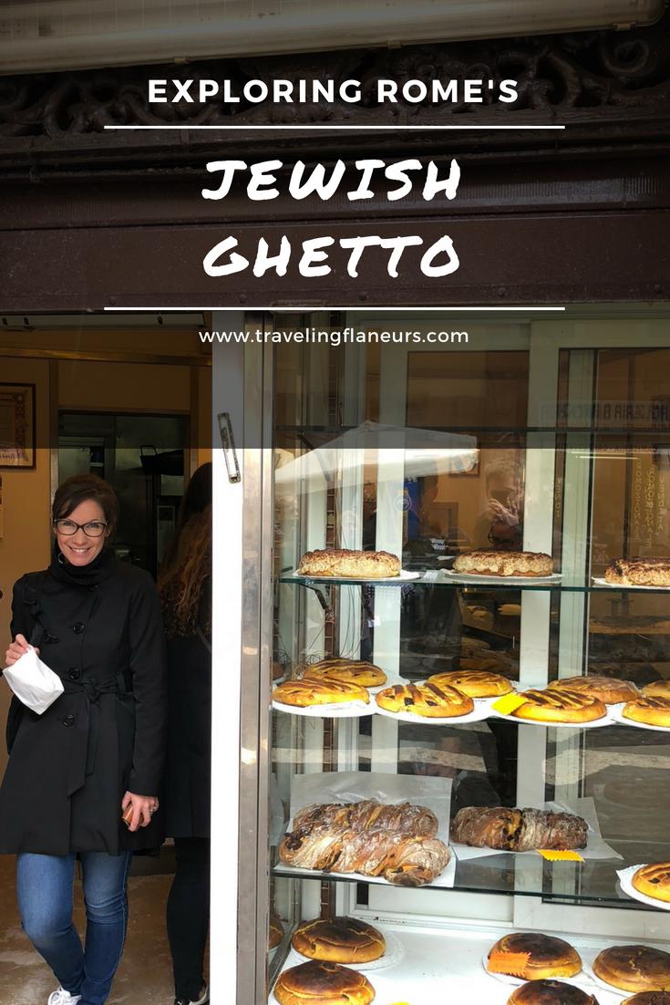 Exploring Rome's Jewish Ghetto
