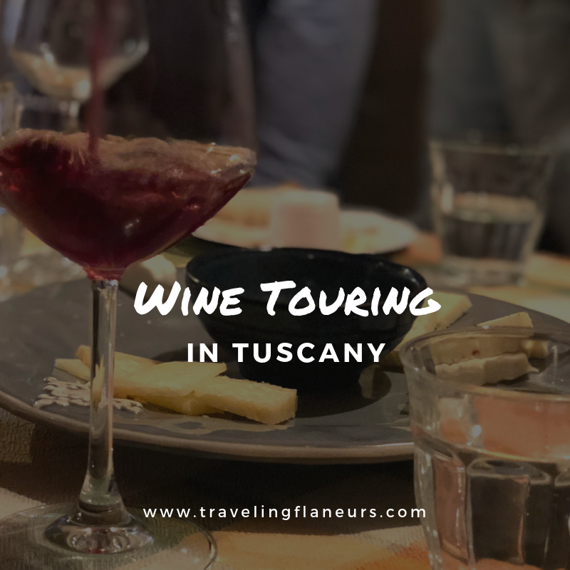 wine touring in tuscany