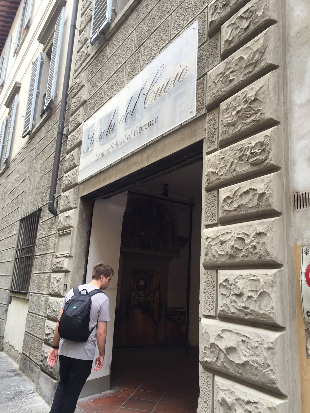 The Leather School of Florence is tucked away behind the Santa Croce Church and is a must-visit when on the hunt of quality leather, especially wallets.