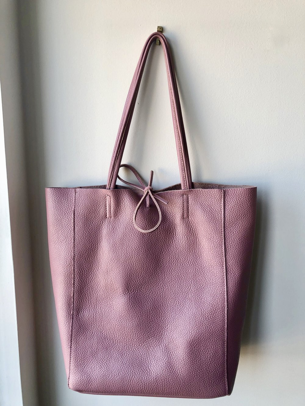 Pink bag from Florence