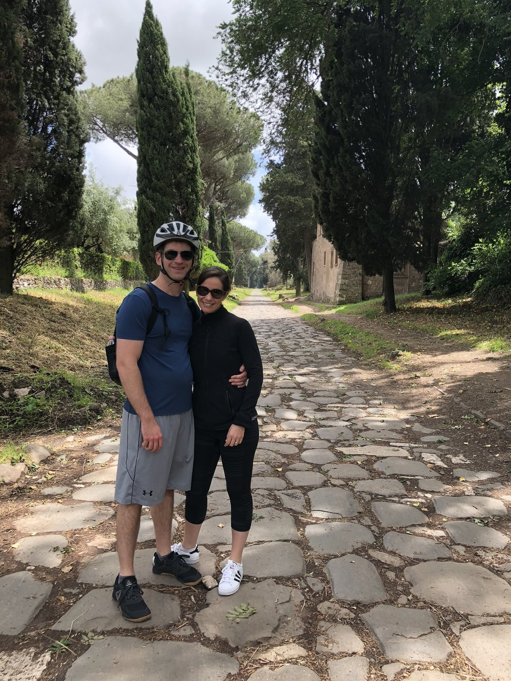 A stop along the Appian Way.