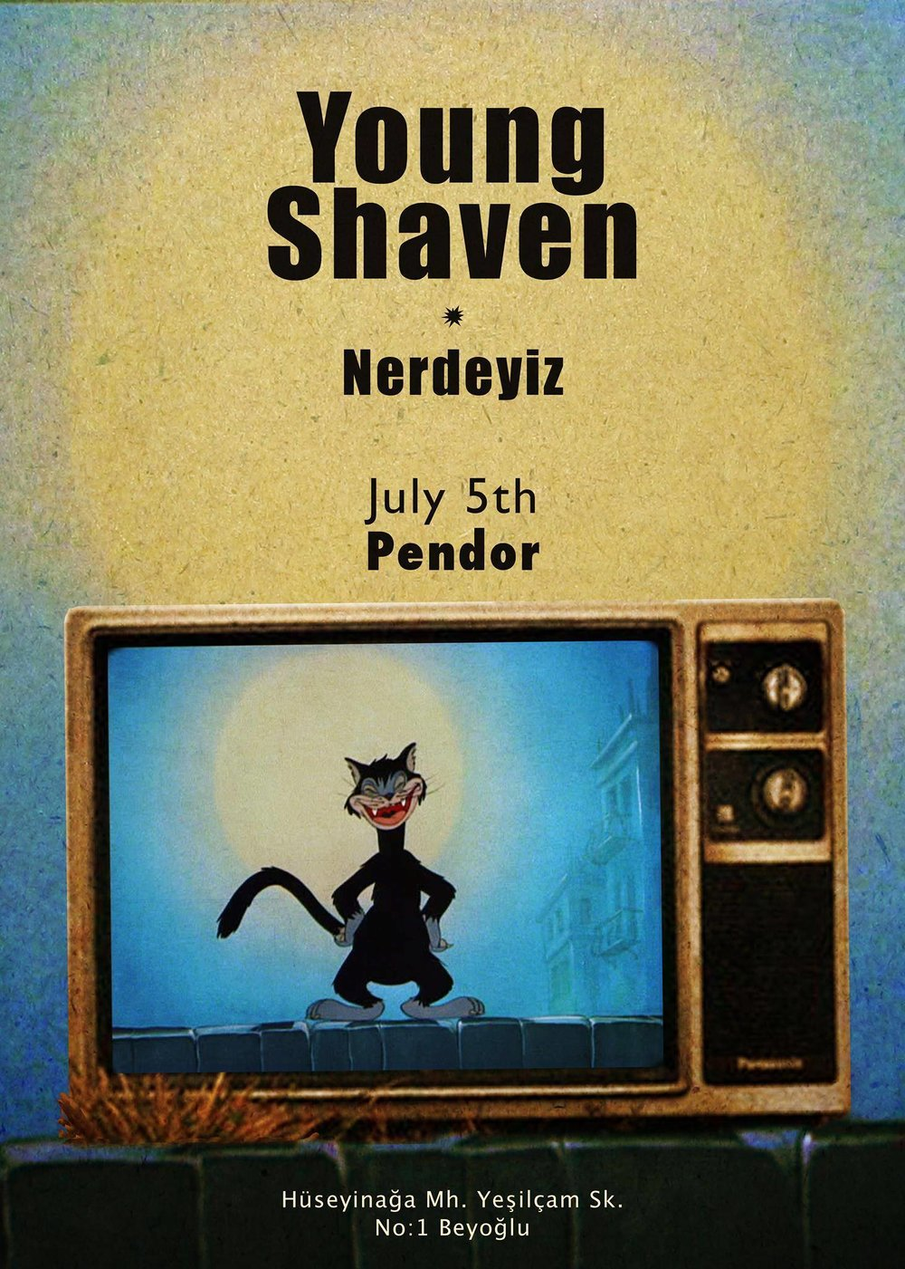 The Young Shaven Poster - Neredeyiz