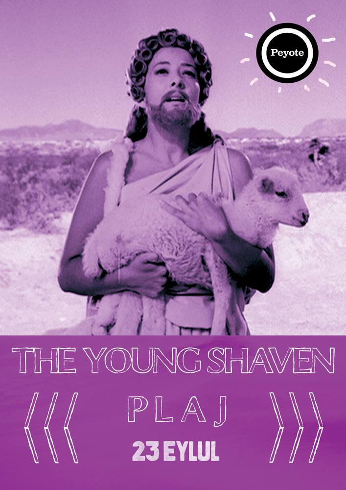 The Young Shaven & Play @ Peyote Poster