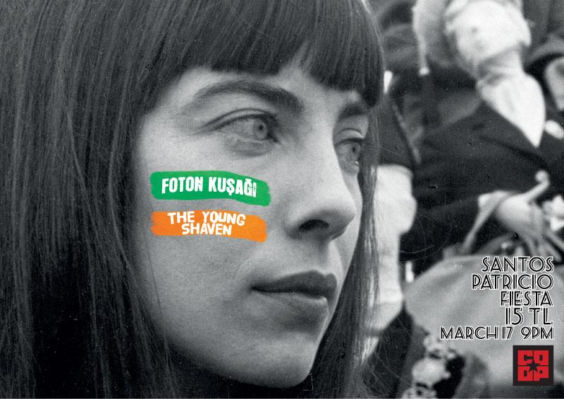 The Young Shaven Santo Patricio Fiesta Poster