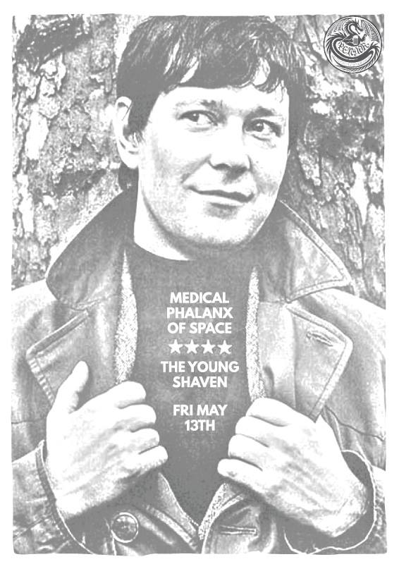 The Young Shaven & Medical Phalanx of Space Poster