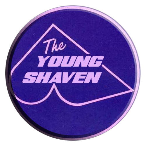 The Young Shaven pins.