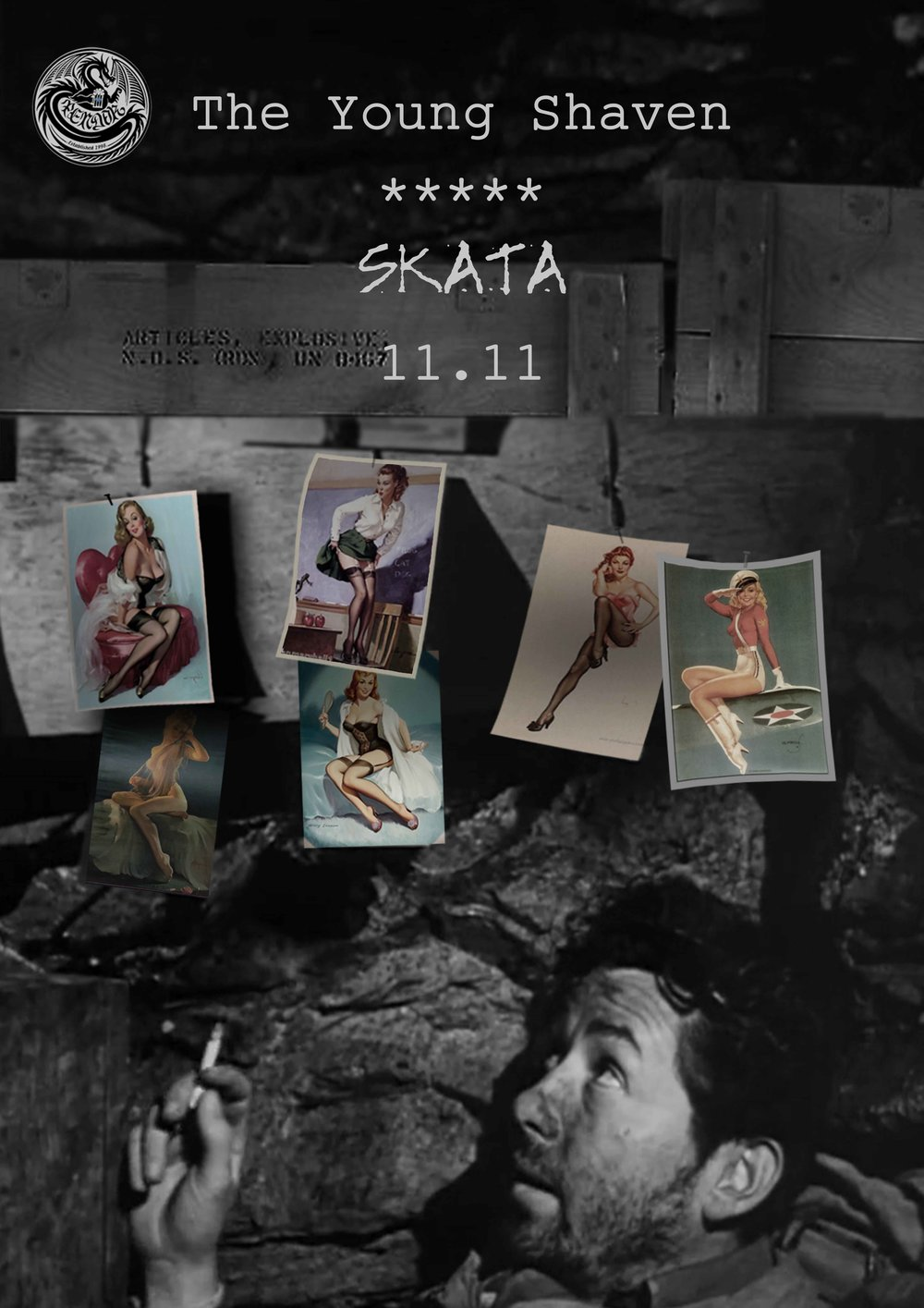 The Young Shaven and Skata poster