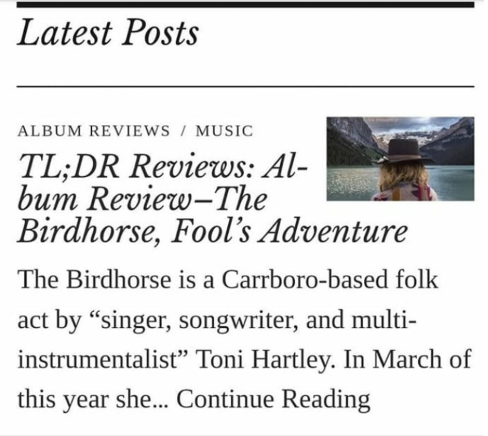 Click to read the album review from Durham Beat!