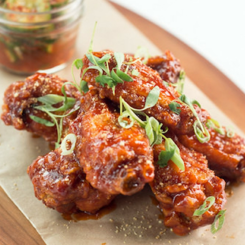 Wings & Things............. Spicy but you can have them without the kick if you like!
