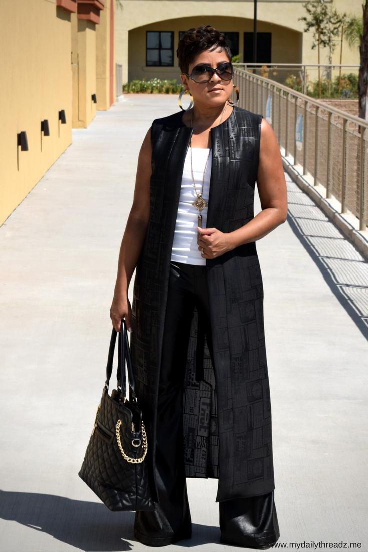 Neoprene & Leather for Fall