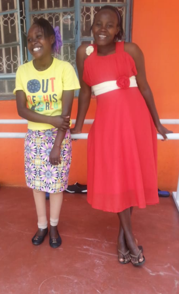 Thanks to the amazing participants of the IB conference in San Diego,  Catherine was fitted at the We Help Two partner clinic at no cost! Catherine is now learning to walk again and looking forward to returning to school.