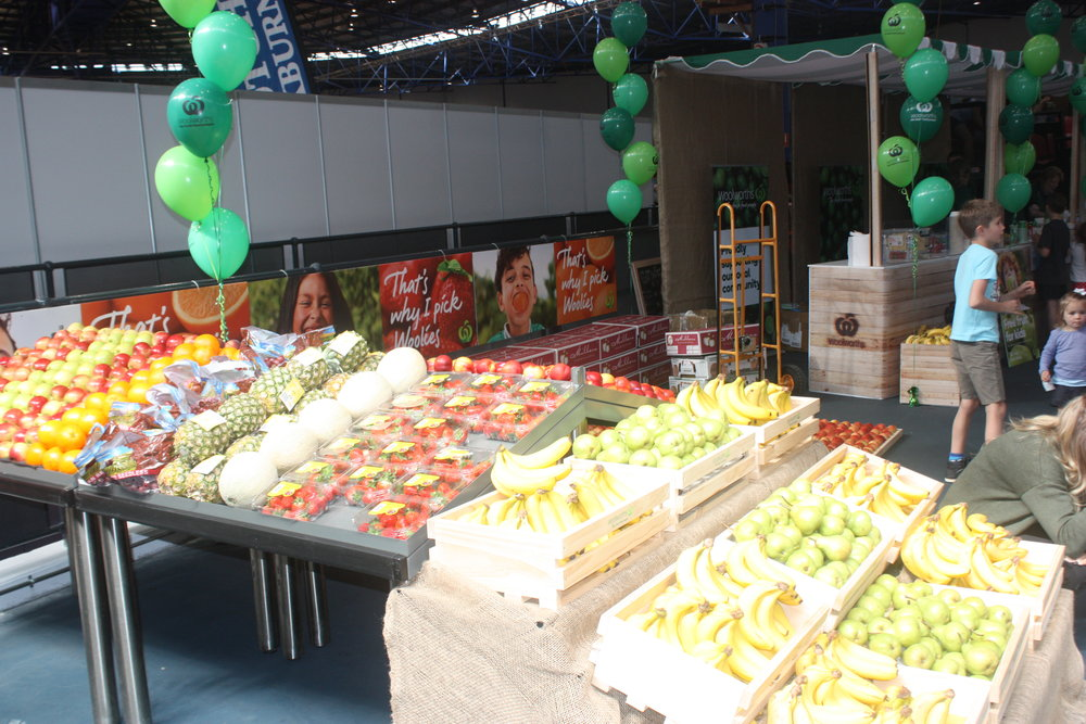 Woolworths fresh fruit ready for action