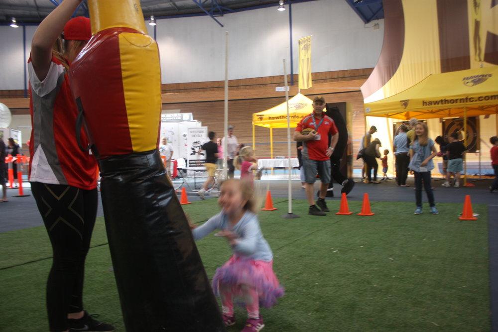 Hawks Footy exercises