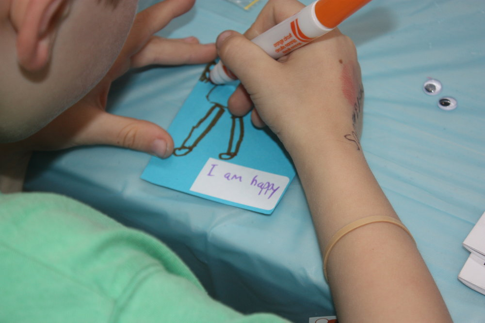 """Craft activity based on Kid I Am, complete this:  """"I am..."""""""