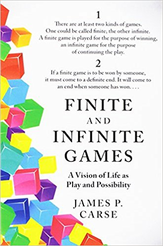 Finite and Infinite Games - What is life? What kind of a game are we playing?