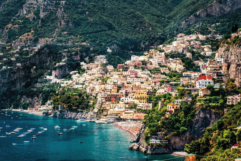 Positano, Italy // One of my favorite places we visited in 2016.