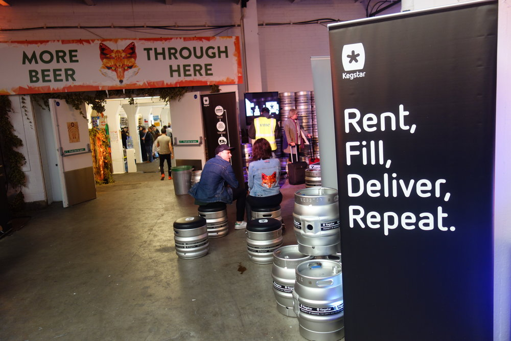 Craft Beer Rising 2017 Hall